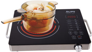 CB CE EMC Certification Aluminum Housing Infrared Cooker Sm-Dt212 pictures & photos