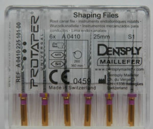 Dentsply Niti Rotary Protaper Dental Files pictures & photos