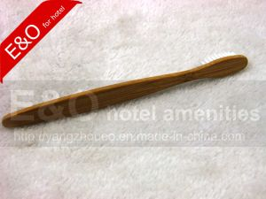 100% Natural Bamboo Charcoal Toothbrush with Hot Logo pictures & photos