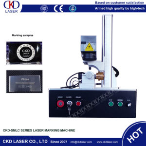 Easy Operation Fiber Laser Engraving Machine for Button pictures & photos