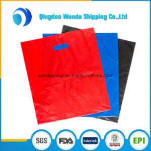 Plastic Merchandise Die Cut Bag for Trade Show Garage Sales Events pictures & photos