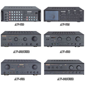 AV-603 Philippines Market 100W Karaoke Power Amplifier with Bluetooth pictures & photos
