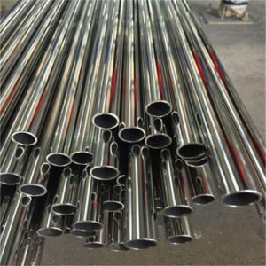 Factory Wholesale Welded Stainless Steel Tube AISI201 Mirror Polishing pictures & photos