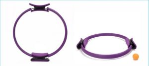 """Pilates Ring 14"""" Resistance Dual Grip Handles Body Toning Fitness Circle pictures & photos"""