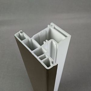 Low Cost Plastic Extruded PVC Conch UPVC Customized Profile pictures & photos
