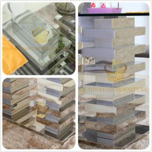 Sj930 Stainless Steel Layer Design Modern Home Furniture Living Room Furniture Set pictures & photos