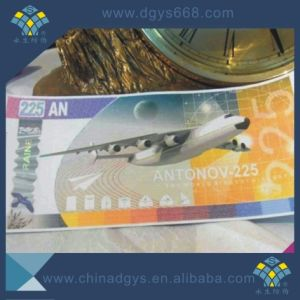 Custom Security Hot Stamping Hologram Ticket pictures & photos