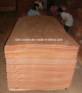 0.3mm Rotary Cut Red Hardwood Veneer for Making Plywood pictures & photos