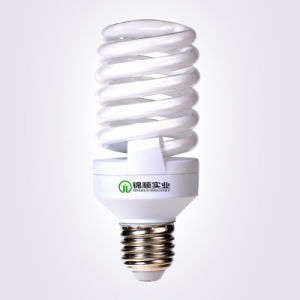 High Lumens Output T2 Full Spiral Energy Saving Lamp 9W pictures & photos