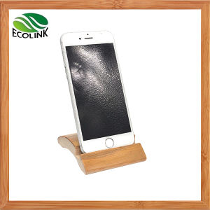 Natural Bamboo Mobile Phone Holder pictures & photos