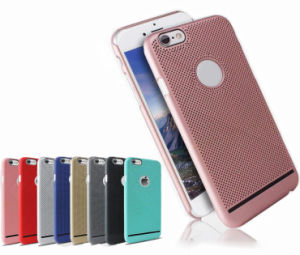 Ultra-Thin PC Radiating Mobile Phone Case Cover for iPhone 7 Huawei P9 Plus with Breathable Perforated Protection (XSPC-006)