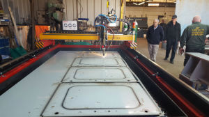 Small Size Table Type CNC Plasma and Flame Precision Cutting Machines pictures & photos