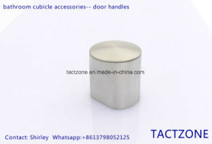 Hot Canton Fair Toilet Partition Accessories 304 Stainless Steel Knob pictures & photos