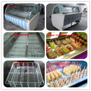 Ice Stick Showcase Popsicle Display Case pictures & photos