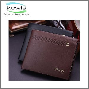 Two Color Choose Wholesaler China Classical Fashion Men Wallet pictures & photos