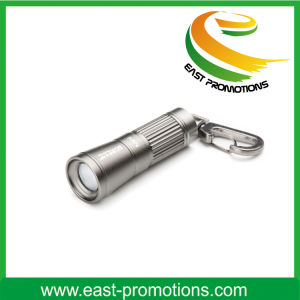 Mini LED Flashlight Keychain with Logo Print pictures & photos