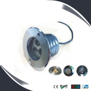 3W LED Inground&Undergound Deck Light with 2 Years Warranty pictures & photos