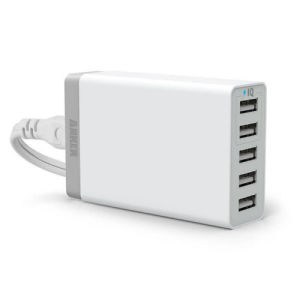Multi Port USB Fast Desktop Charger 5 Ports Adapter Travel Wall Mobile Charger pictures & photos