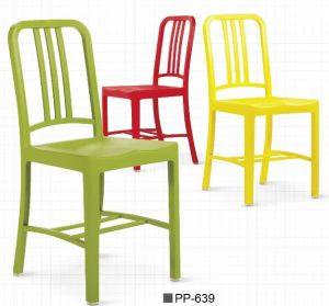 2017 Stackable Plastic Navy Chair Meetingroom Chair pictures & photos