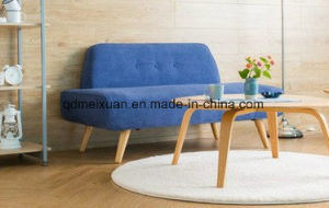 Northern Rural Contracted Sitting Room Cloth Art Sofa Seats Cafe Lawn Leisure Chairs (M-X3684) pictures & photos