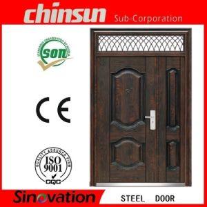 Transom Steel Security Door pictures & photos