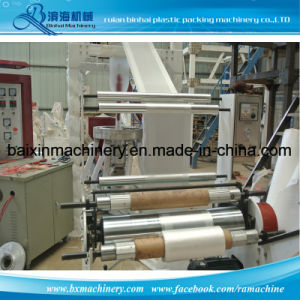 LDPE Film Blowing Machine Garbage Bag T Shirt Bag pictures & photos