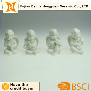 porcelain Musical Angel Figurines for Christams Decoration pictures & photos
