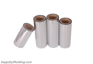 CPP Metallized Film Rolls Food Grade pictures & photos