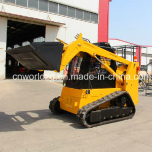 Chinese Cheap Wheel Skid Steer Loader pictures & photos