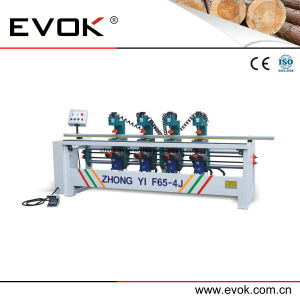 Most Professional Wood Furniture 4 Heads Hinge Boring Machine (F65-4J) pictures & photos