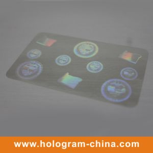 Transparent Hologram Overlay for ID Card pictures & photos