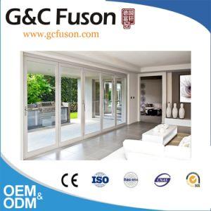 Fuson Continuous Exterior Aluminum Folding Door for Balcony pictures & photos