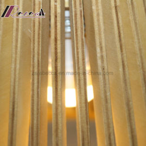 Modern Wooden Conical Pendant Lamp for Dining Room pictures & photos