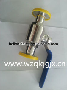 China Stainless Steel Sanitary Floating Ball Valve pictures & photos