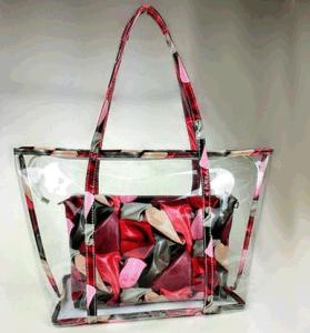 2017 New Summer Beach Bag Printing Transparent Plastic Handbag (BDMC132) pictures & photos