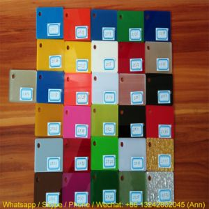 Colorful Extruded Plexiglass Acrylic Sheet pictures & photos