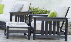 USA Traditional Balcony Furniture Polywood Outdoor Garden Patio Sectional Sofa Set (1+2+3) pictures & photos