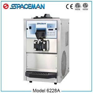 New Product Big Capacity Swirl Frozen Yogurt Machine 6228A pictures & photos