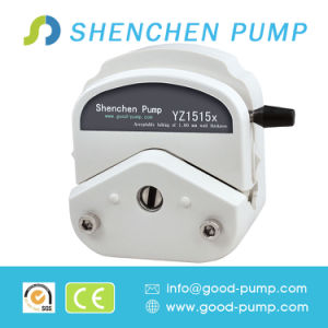 Big Flow Rate DC24V Peristaltic Pump with Pump Head Yz1515X pictures & photos