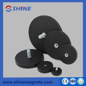 Strong Permanent Neodymium Pot Magnet/ Holding Magnet Rubber Covered pictures & photos
