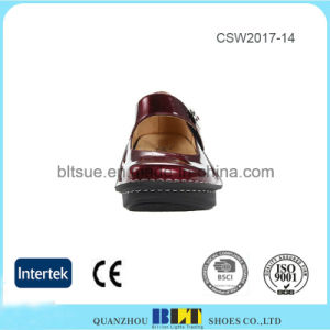 Top Quality Leather Slip on Alegria Clogs Shoes for Women pictures & photos