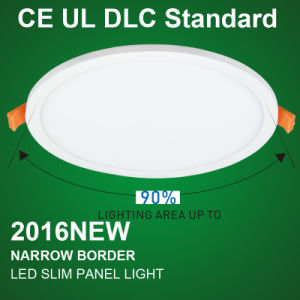 Bis Ultra Slim LED Panel Light with Round Housing pictures & photos