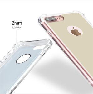New Design Phone Cases Mirror Slim Cover for Apple iPhone 7 Plus Smart View Housing with Soft Silicone TPU +Hard PC Phone Accessories (XSDD-088) pictures & photos