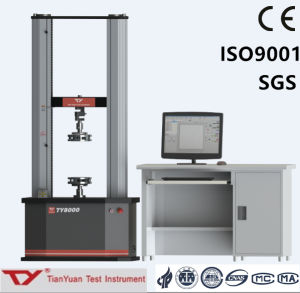 Ty8000 Electronic Universal Testing Machine 20kn-50kn Test Equipment (servo motor) pictures & photos