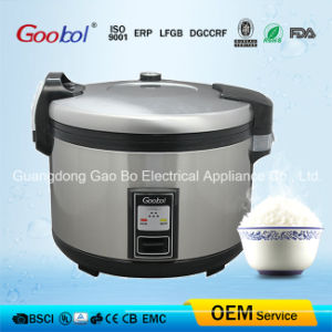 Big Deluxe Rice Cooker Stainless Steel Body Nonstick Inner Pot Ce CB Certificate pictures & photos