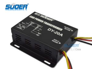 Suoer 10A Voltage Transformer DC 24V to DC 12V Converter (DY-20A) pictures & photos