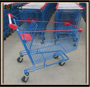 160 Liters Shopping Cart Mjy-Std160 for Carrefour pictures & photos