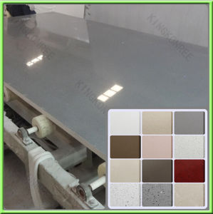 Best Price Gray Color Engineered Caesar Quartz Stone pictures & photos