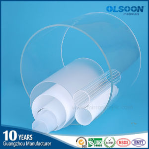 Olsoon Transparent Acrylic Tube Acrylic Bubble Tube Plastic Tube White Color Acrylic Tube pictures & photos