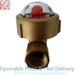 Rotating Van Brass Flow Indicator for Liquids pictures & photos